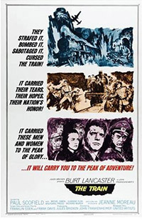 movie poster the train